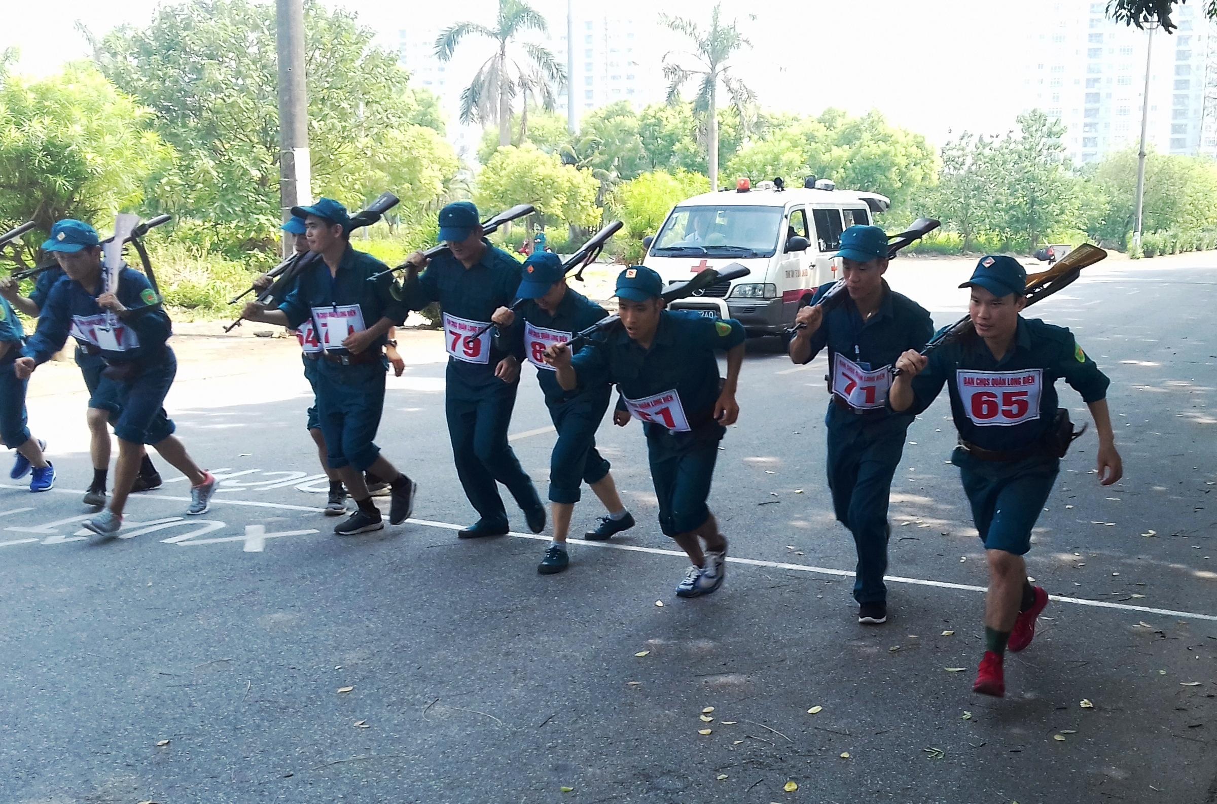 VATM tham gia Hội thao Quốc phòng Dân quân tự vệ quận Long Biên năm 2019