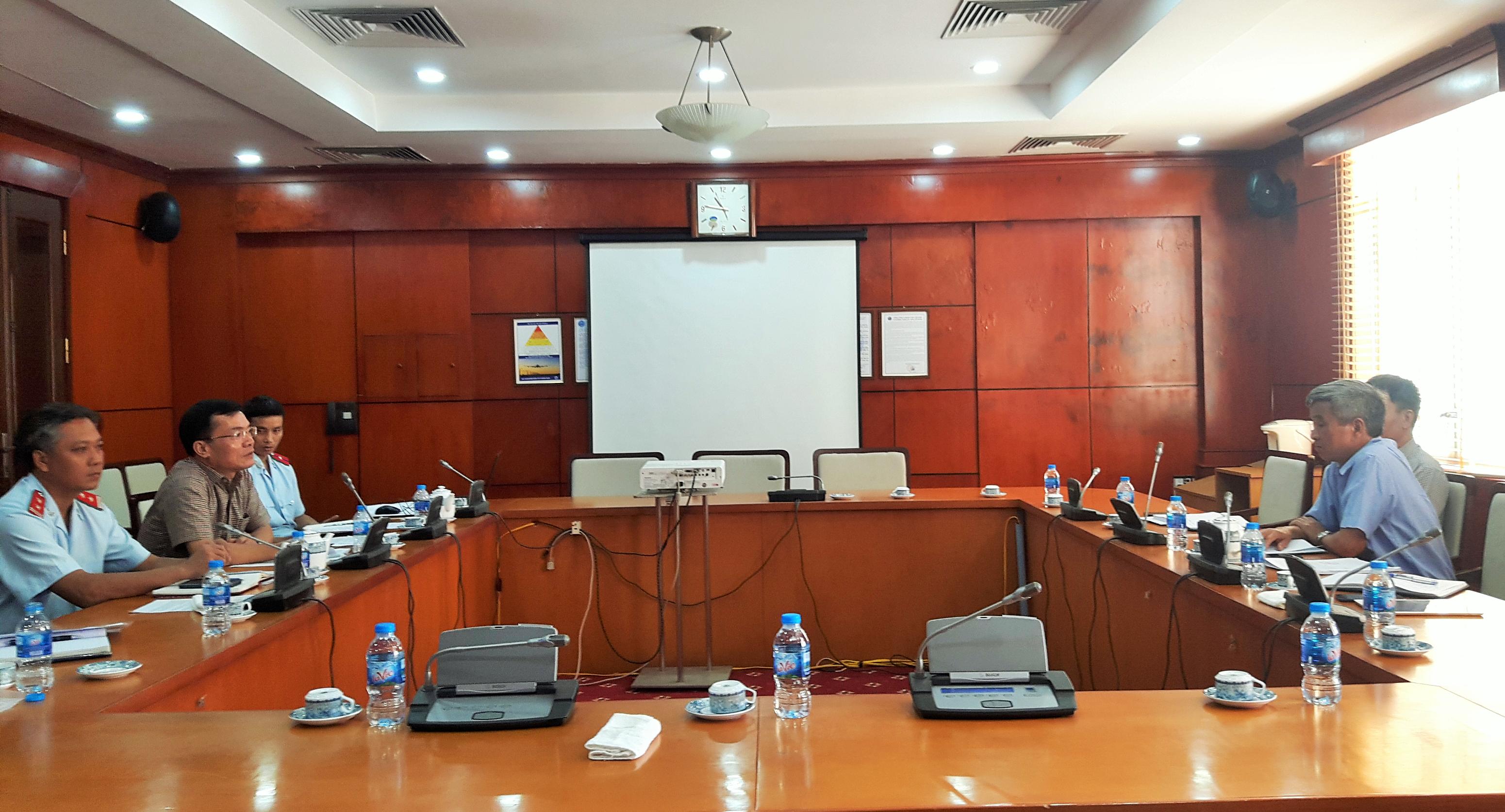 Thanh tra việc chấp hành các quy định của pháp luật về tần số vô tuyến điện đối với Tổng công ty Quản lý bay Việt Nam