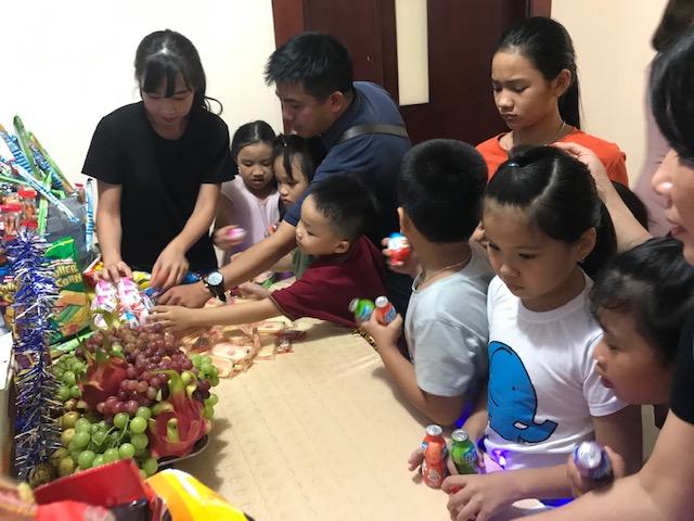 Trung tâm Phối hợp tìm kiếm cứu nạn Hàng không tổ chức chương trình vui trung thu cho con em cán bộ nhân viên trong Trung tâm
