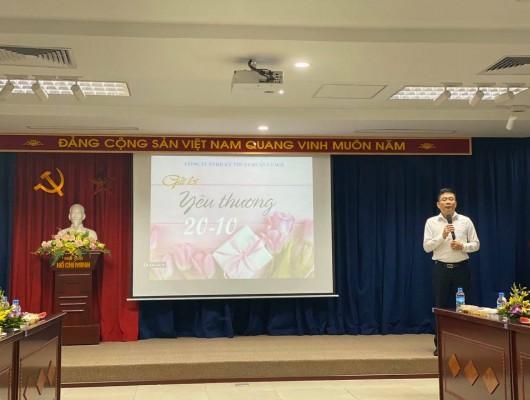 Công ty TNHH Kỹ thuật Quản lý bay tổ chức kỷ niệm 89 năm ngày thành lập Hội liên hiệp phụ nữ Việt Nam 20/10