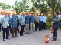 Tập huấn nghiệp vụ phòng cháy chữa cháy năm 2019