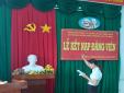 Chi bộ Đài Kiểm soát không lưu Cà Mau – Công ty Quản lý bay miền Nam tổ chức kết  nạp đảng viên mới