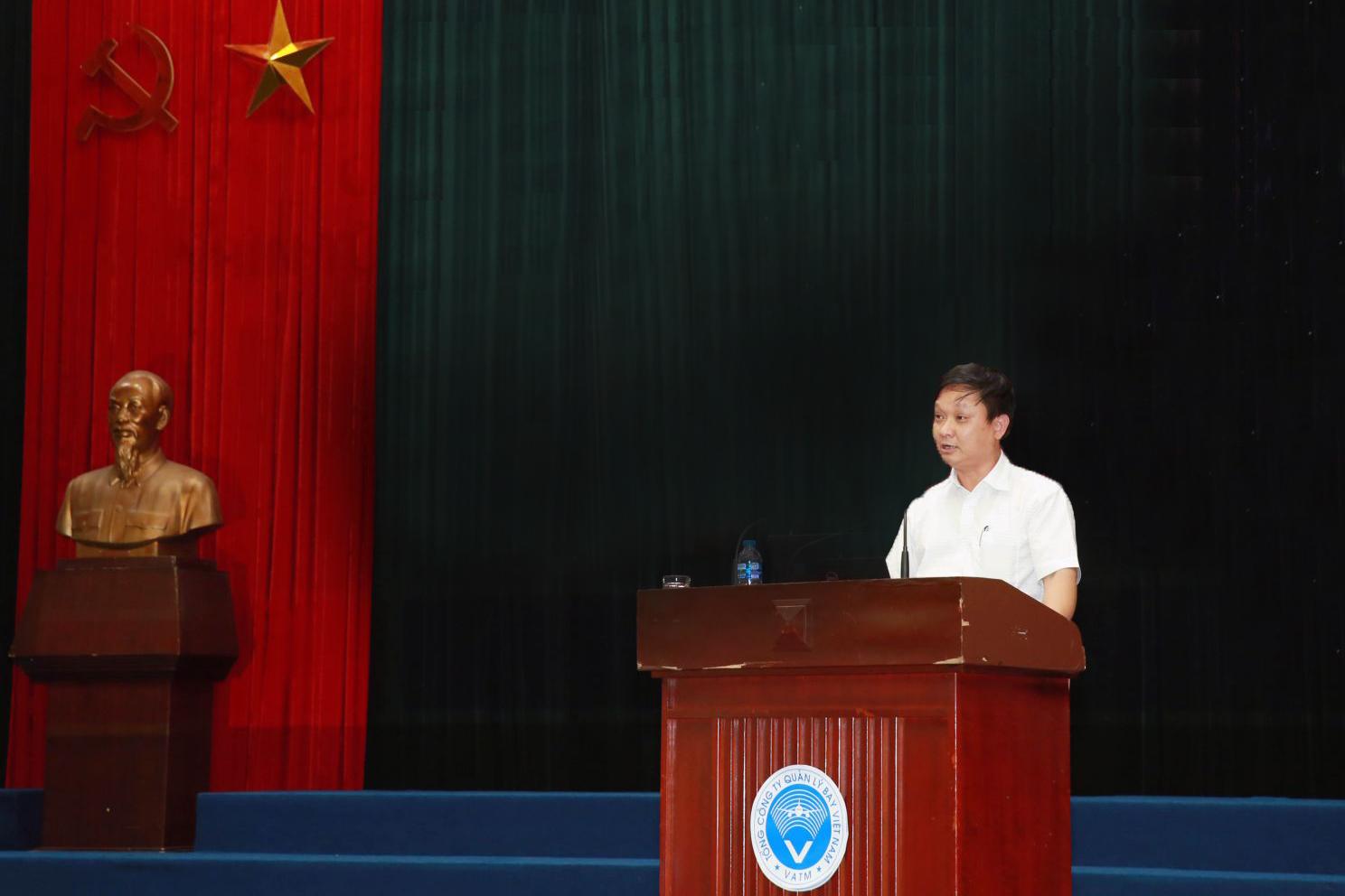 Đảng ủy VATM tổ chức hội nghị tập huấn về đại hội đảng các cấp nhiệm kỳ 2020- 2025