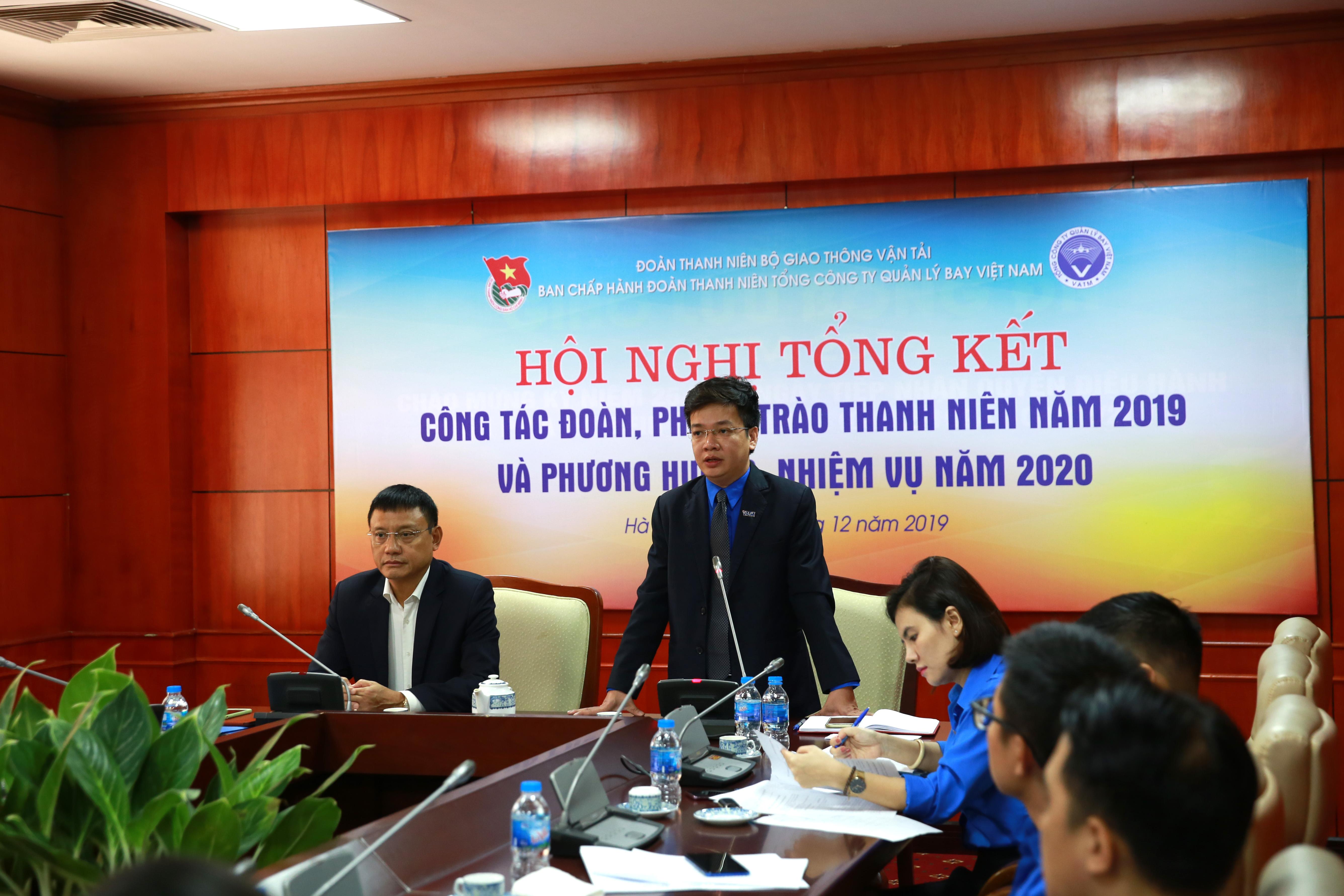 Hội nghị Tổng kết Công tác Đoàn năm 2019 và triển khai nhiệm vụ kế hoạch năm 2020