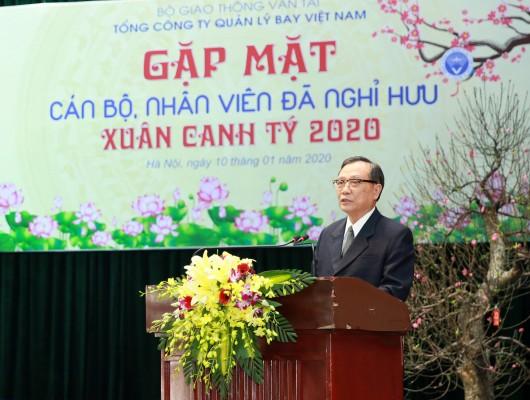 VATM: Gặp mặt cán bộ, nhân viên đã nghỉ hưu đầu Xuân 2020