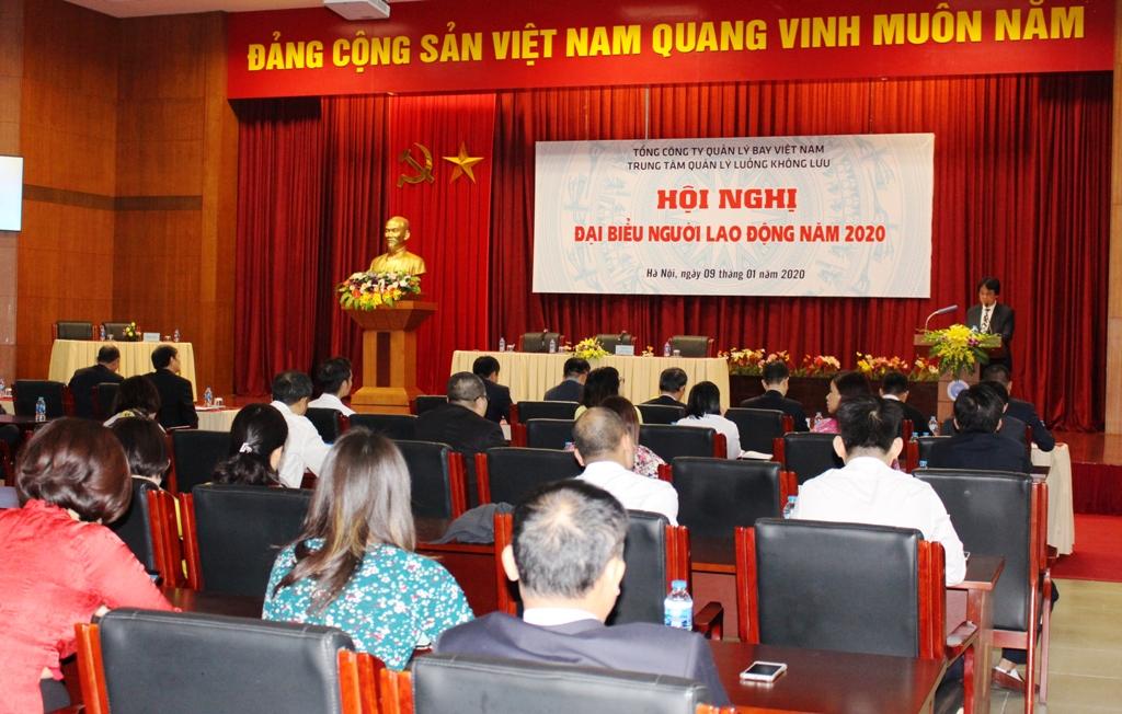 Trung tâm Quản lý luồng không lưu tổ chức Hội nghị Người lao động
