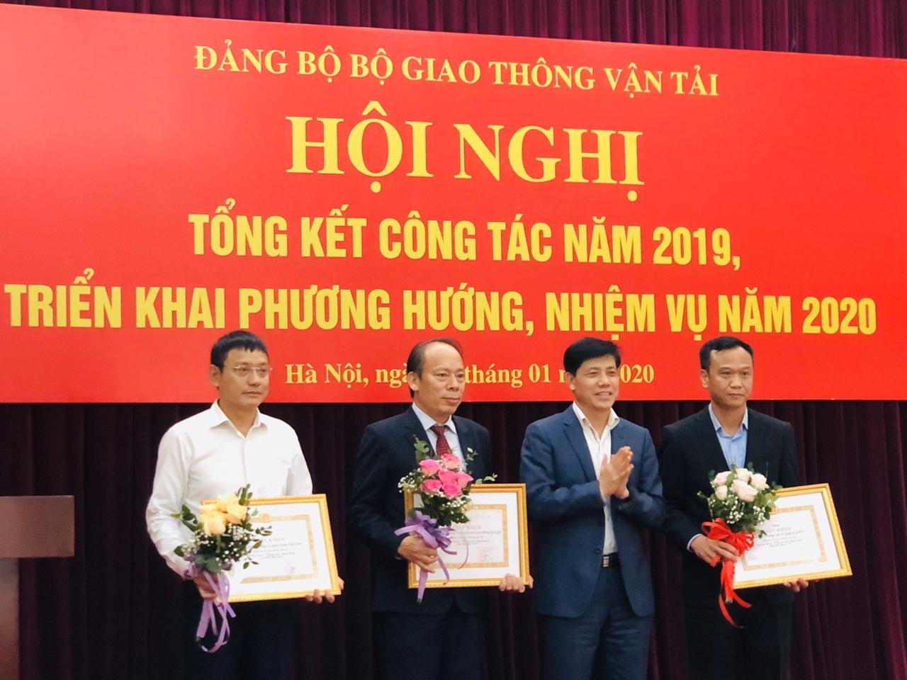 Đảng ủy VATM tham dự Hội nghị công tác Đảng Bộ Giao thông Vận tải năm 2019