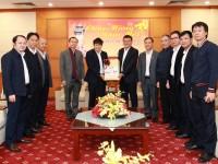 Lãnh đạo các đơn vị trong và ngoài ngành Hàng không đến chúc Tết Tổng công ty Quản lý bay Việt Nam