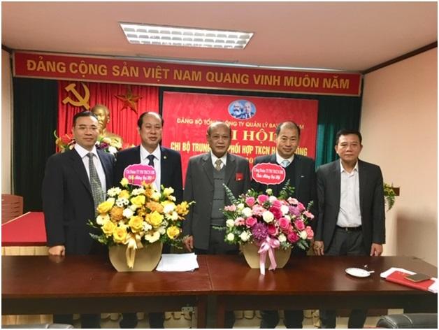 Đại hội chi bộ Trung tâm Phối hợp tìm kiếm cứu nạn Hàng không  nhiệm kỳ 2020 - 2022