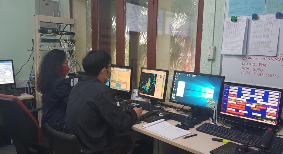 Công tác khí tượng trong giai đoạn kích hoạt cấp độ 3 ứng phó dịch Covid-19