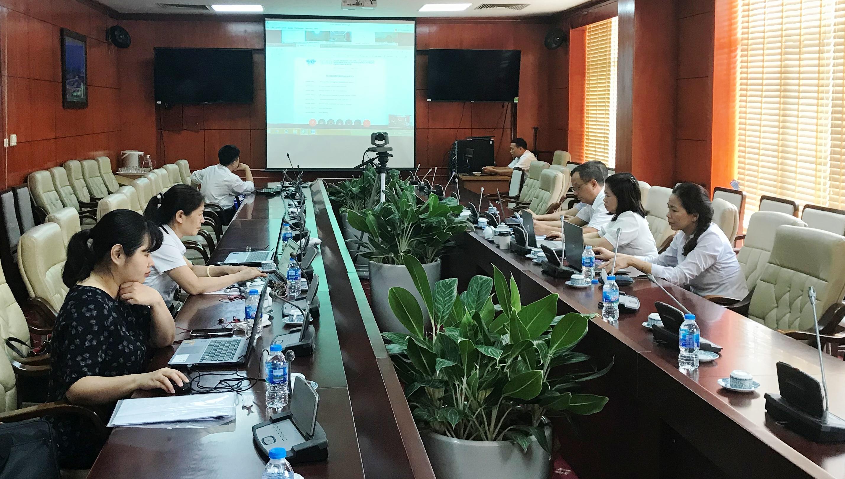Hội nghị trực tuyến của Nhóm chuyên trách về yêu cầu đối với dịch vụ MET lần thứ 9 (MET/R WG/9)
