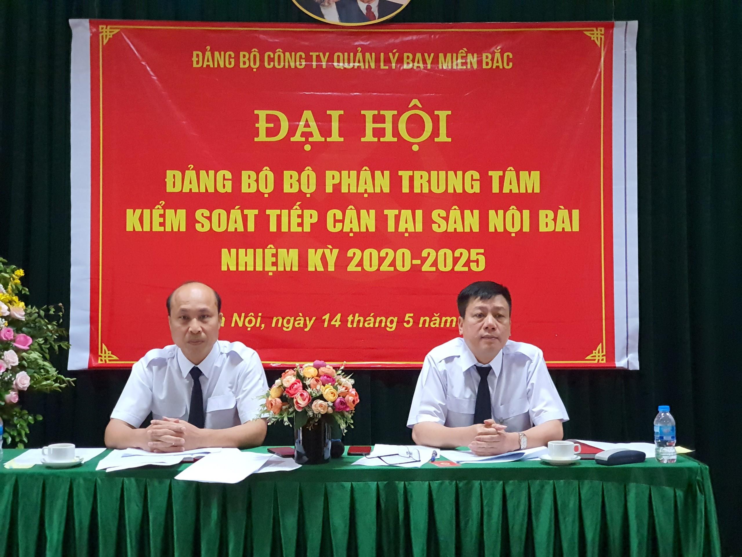 Đảng bộ bộ phận Trung tâm Kiểm soát tiếp cận tại sân Nội Bài tổ chức Đại hội nhiệm kỳ 2020 – 2025