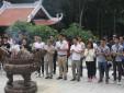 Chi đoàn Trung tâm kiểm soát đường dài- Đoàn cơ sở Công ty quản lý bay miền Bắc tham quan Khu di tích Lịch sử Chủ tịch Hồ Chí Minh tại K9-Đá Chông