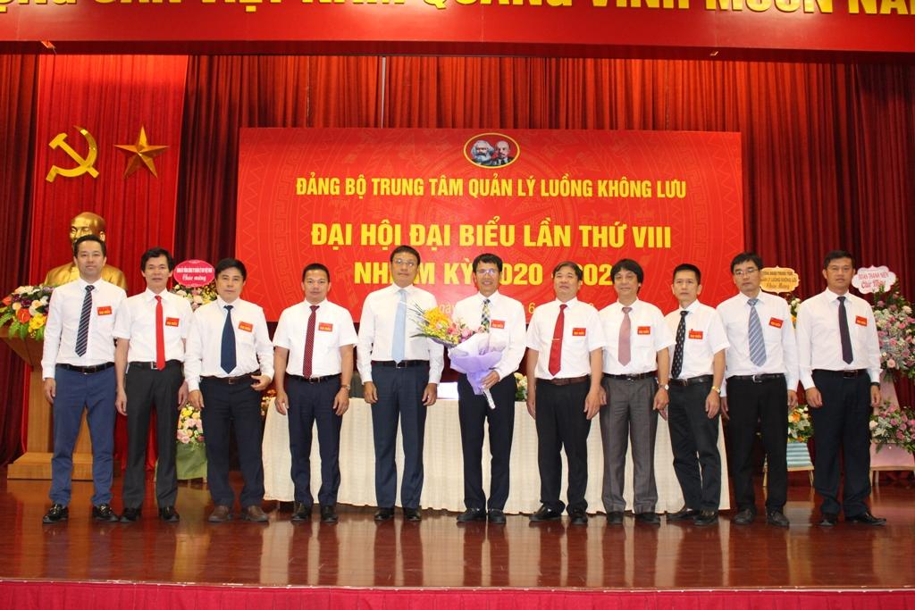 Đại hội Đại biểu Đảng bộ Trung tâm Quản lý luồng không lưu lần thứ VIII, nhiệm kỳ 2020 – 2025