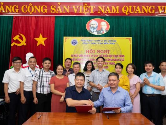 Công đoàn Công ty QLB miền Trung tổ chức Hội nghị sơ kết giữa nhiệm kỳ Quy chế phối hợp giữa Giám đốc và BCH Công đoàn cơ sở  nhiệm kỳ 2017-2022