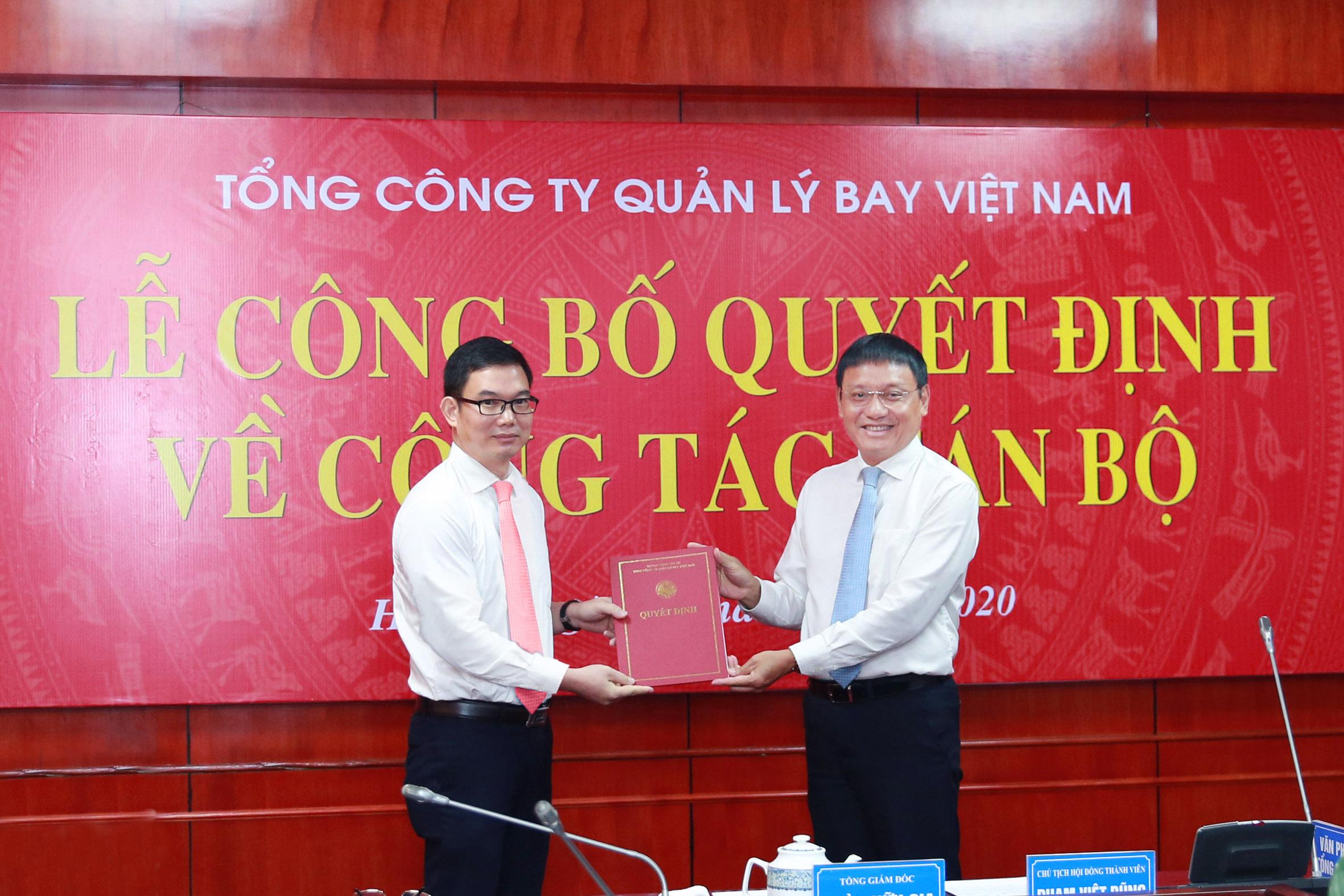 VATM: Công bố và trao quyết định bổ nhiệm Phó Tổng Giám đốc