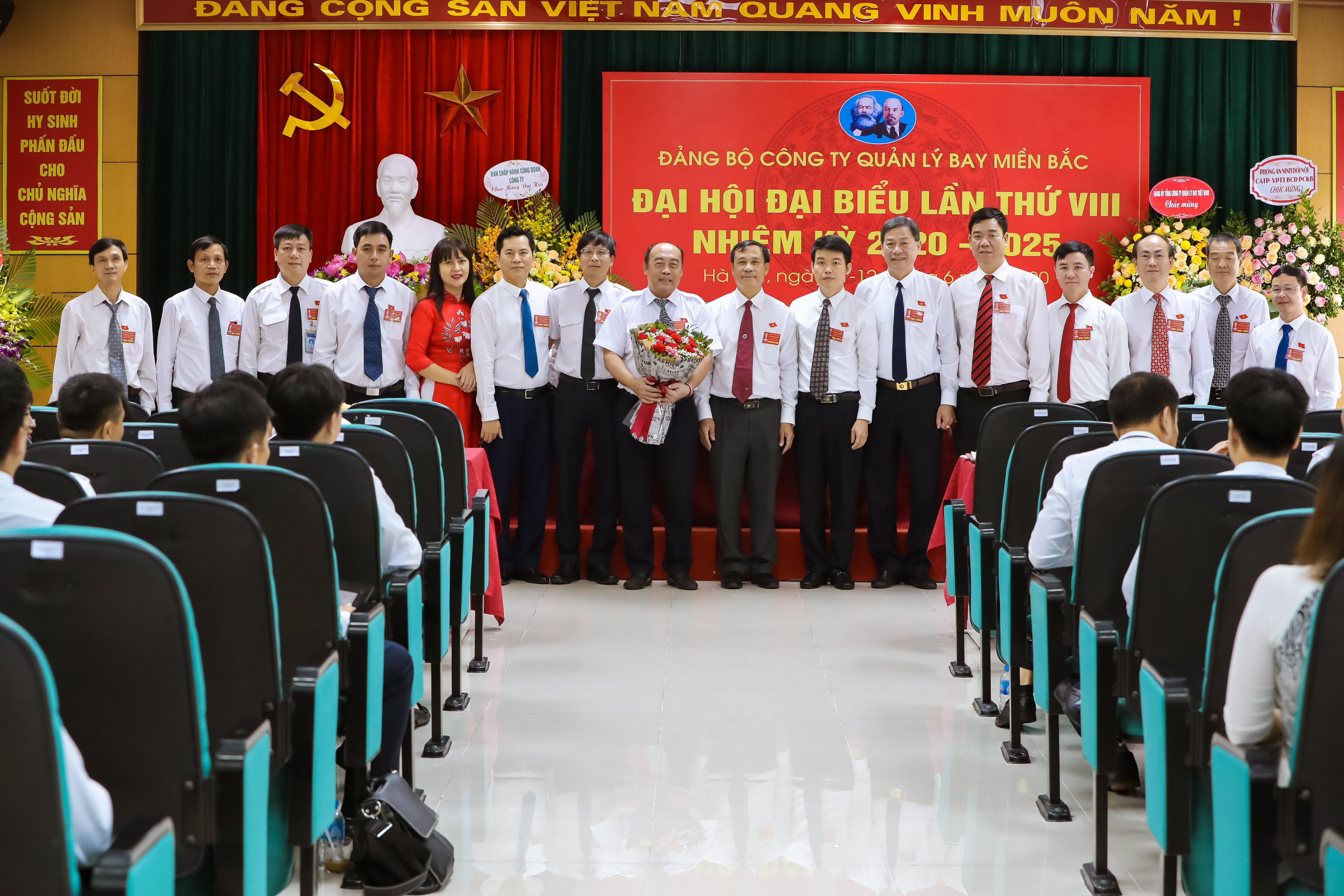 Đại hội Đại biểu Đảng bộ Công ty Quản lý bay miền Bắc lần thứ VIII, nhiệm kỳ 2020 – 2025