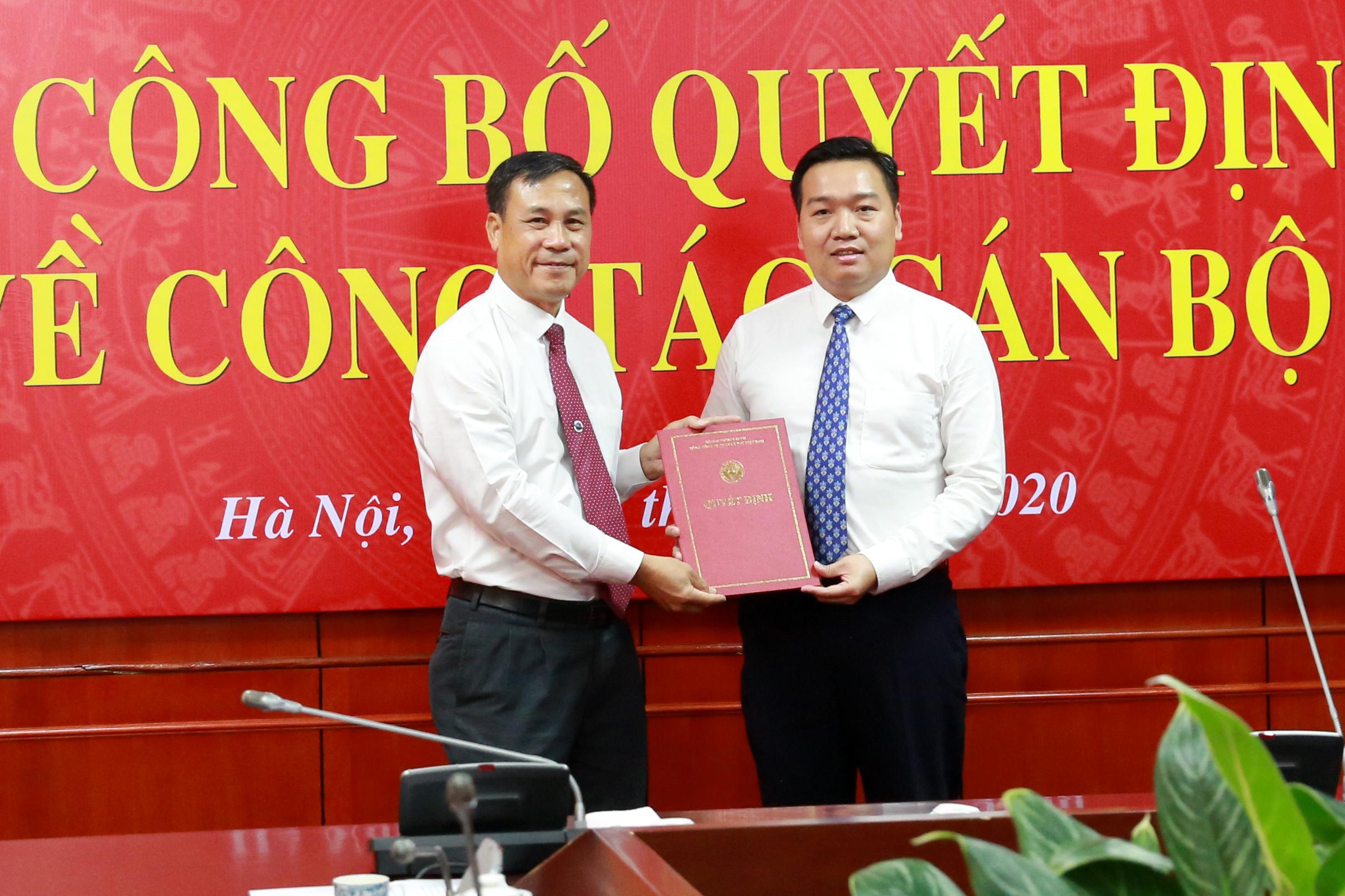VATM: Công bố và trao quyết định bổ nhiệm Trưởng ban Kế hoạch - Đầu tư