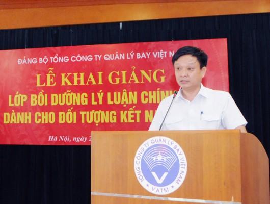 Đảng ủy VATM khai giảng lớp bồi dưỡng lý luận chính trị dành cho đối tượng kết nạp đảng năm 2020 khu vực phía Bắc
