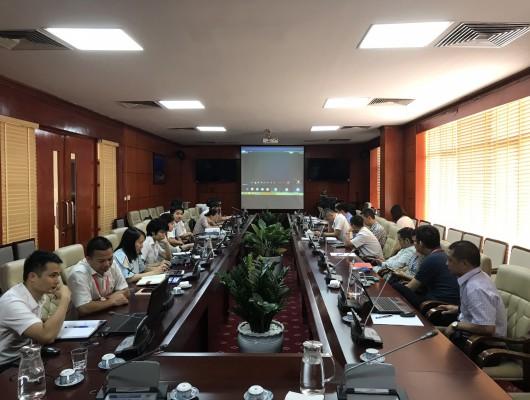 VATM tham gia huấn luyện trực tuyến về khai thác sử dụng phần mềm Horizon