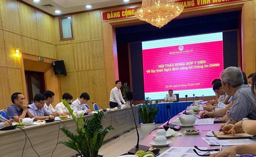 VATM: Tham gia ý kiến về dự thảo Nghị định về Công bố thông tin của Doanh nghiệp Nhà nước