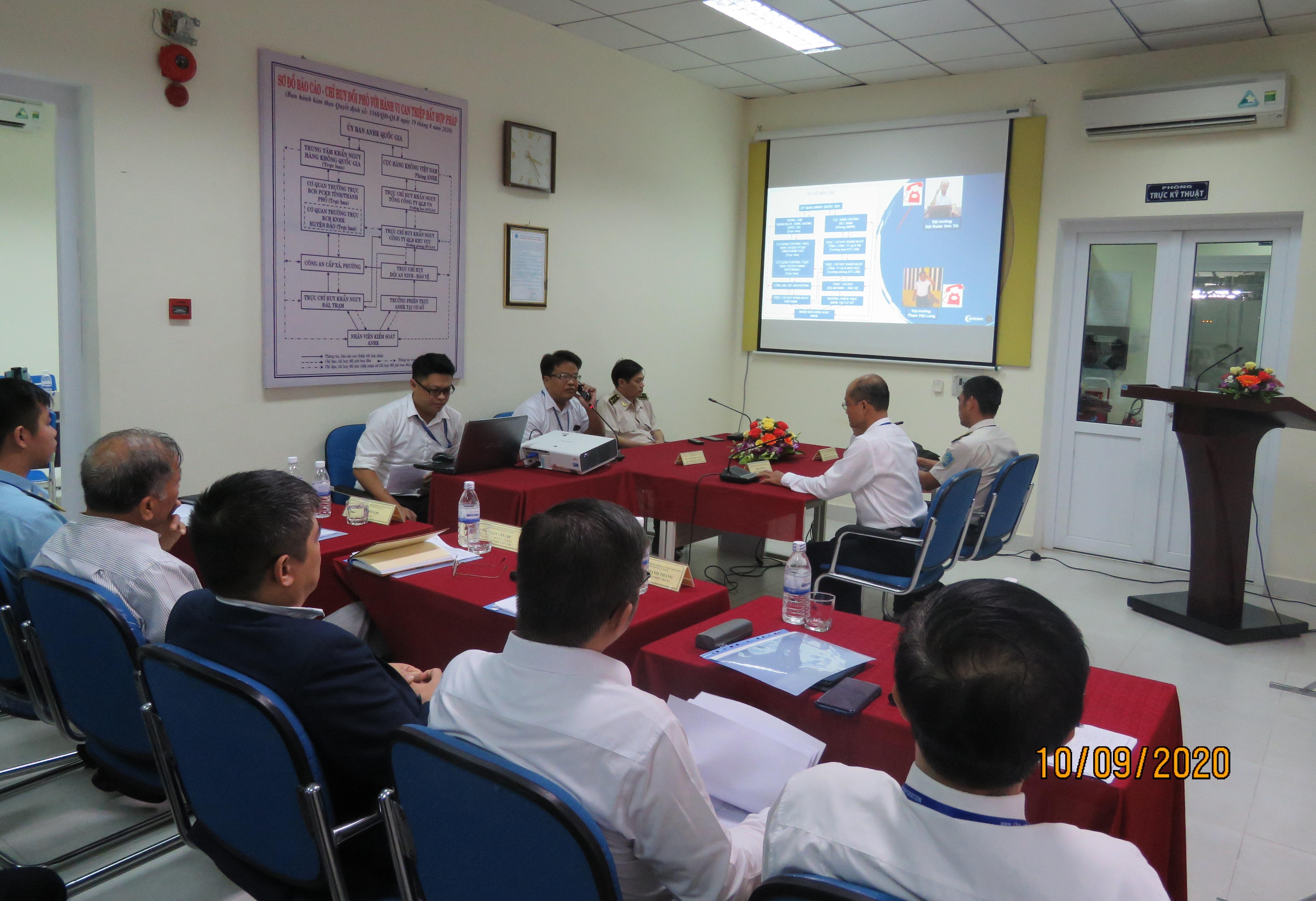 Đối phó với hành vi can thiệp bất hợp pháp vào hoạt động hàng không dân dụng tại Trạm radar Sơn Trà 2, thành phố Đà Nẵng