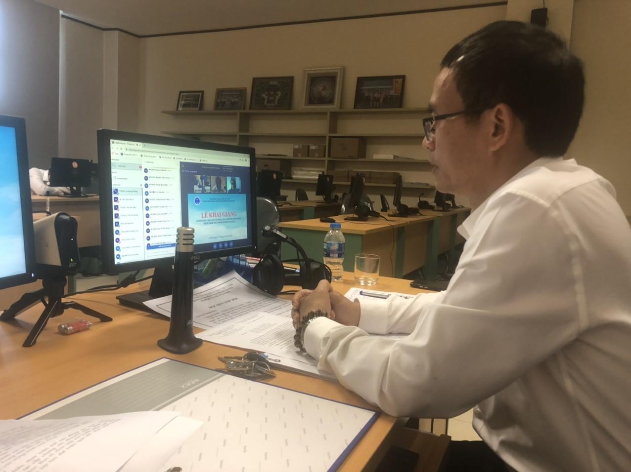 Trung tâm Đào tạo - Huấn luyện nghiệp vụ Quản lý bay tổ chức khai giảng khóa đào tạo cấp CCCM nhân viên Xử lý dữ liệu hàng không năm 2020