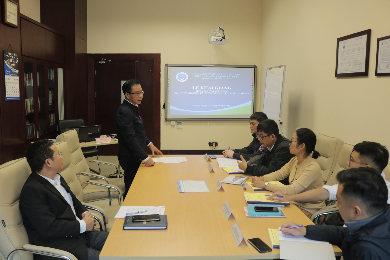 Khai giảng khóa đào tạo nhân viên Tìm kiếm cứu nạn hàng không năm 2020