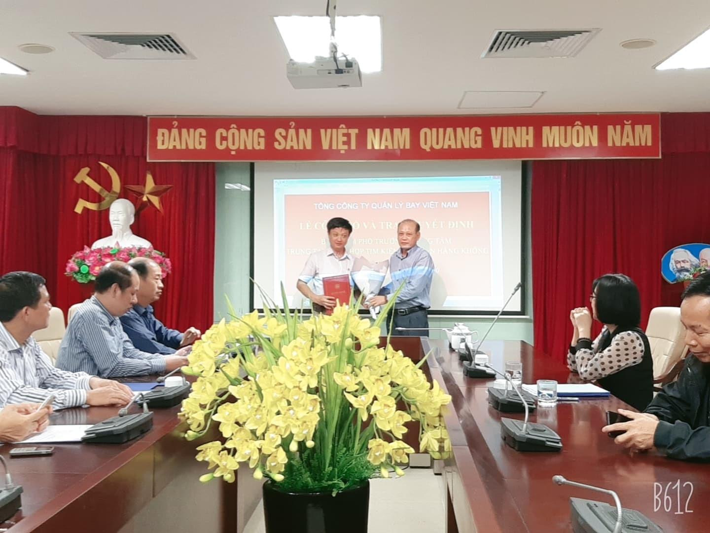 Công bố và trao Quyết định Phó Trưởng Trung tâm Phối hợp tìm kiếm cứu nạn hàng không