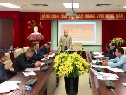 Hội nghị Tổng kết công tác Đảng và kiểm điểm năm 2020 của Chi bộ Trung tâm Phối hợp tìm kiếm cứu nạn Hàng không