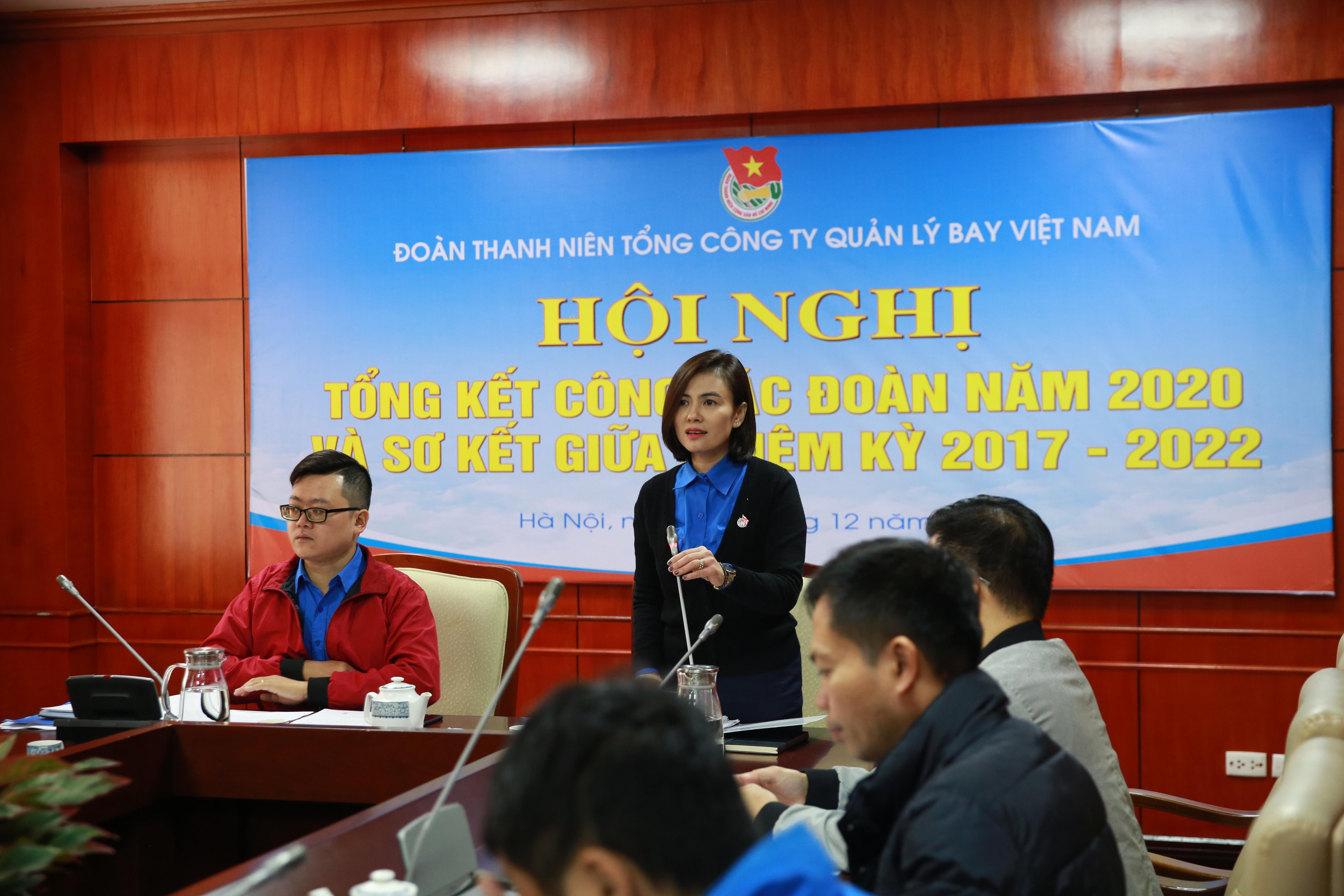 Đoàn Thanh niên VATM: Hội nghị Tổng kết Công tác Đoàn năm 2020 và Sơ kết giữa nhiệm kỳ 2017-2022