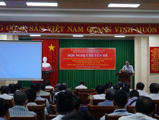 Hội nghị chuyên đề tại Đảng bộ Công ty Quản lý bay Miền nam