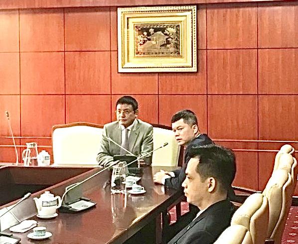 Chủ tịch Hội đồng thành viên Phạm Việt Dũng gặp mặt, chúc Tết đầu năm mới Tân Sửu