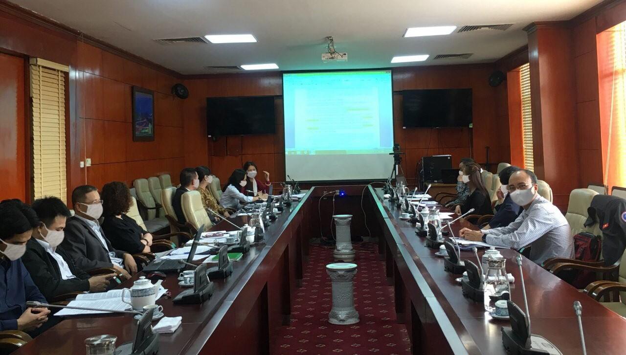 Hội nghị thống nhất nội dung Tu chỉnh Tài liệu Hướng dẫn khai thác của Trung tâm Cảnh báo thời tiết