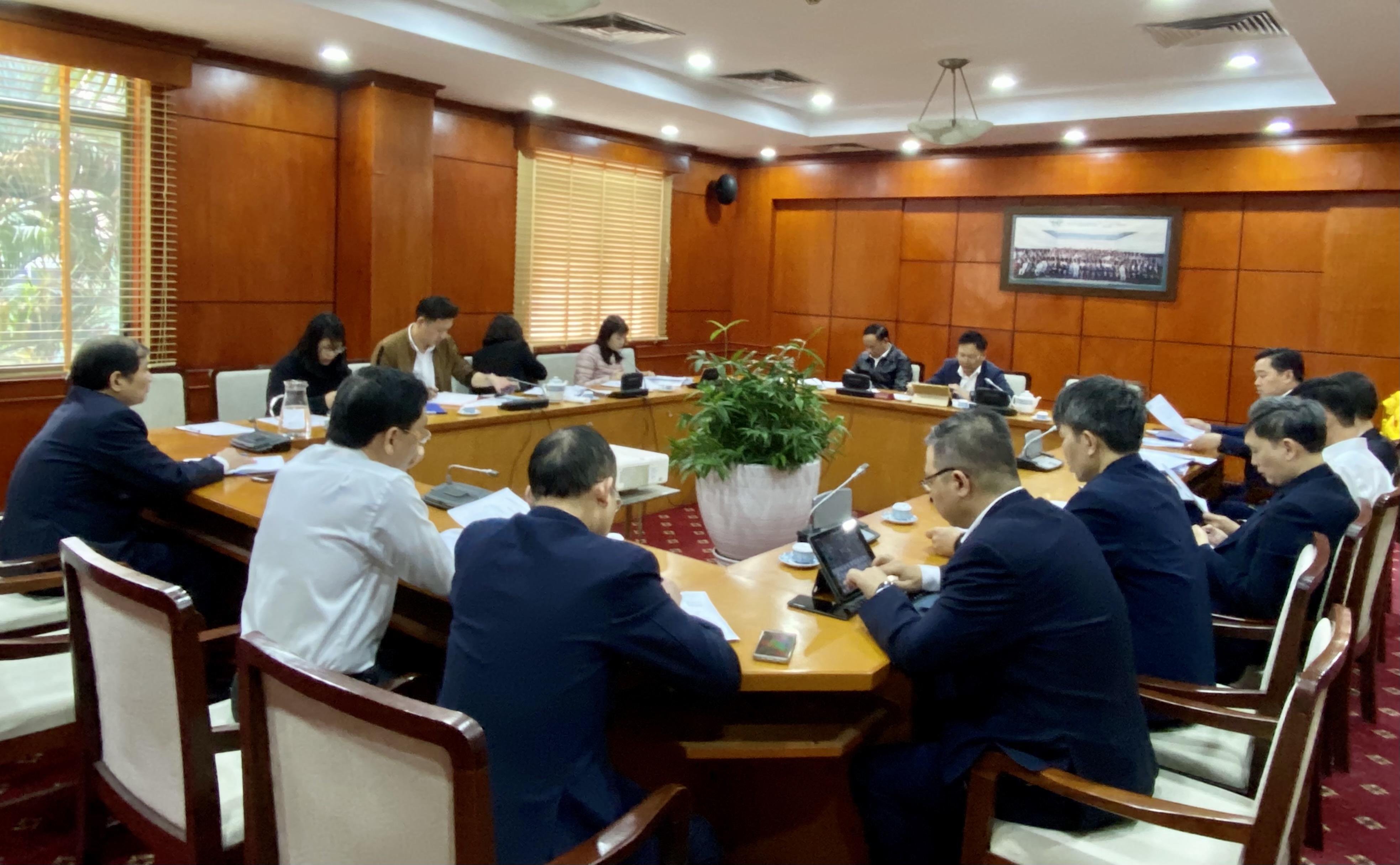 Hội nghị Ban chấp hành Công đoàn Tổng công ty mở rộng