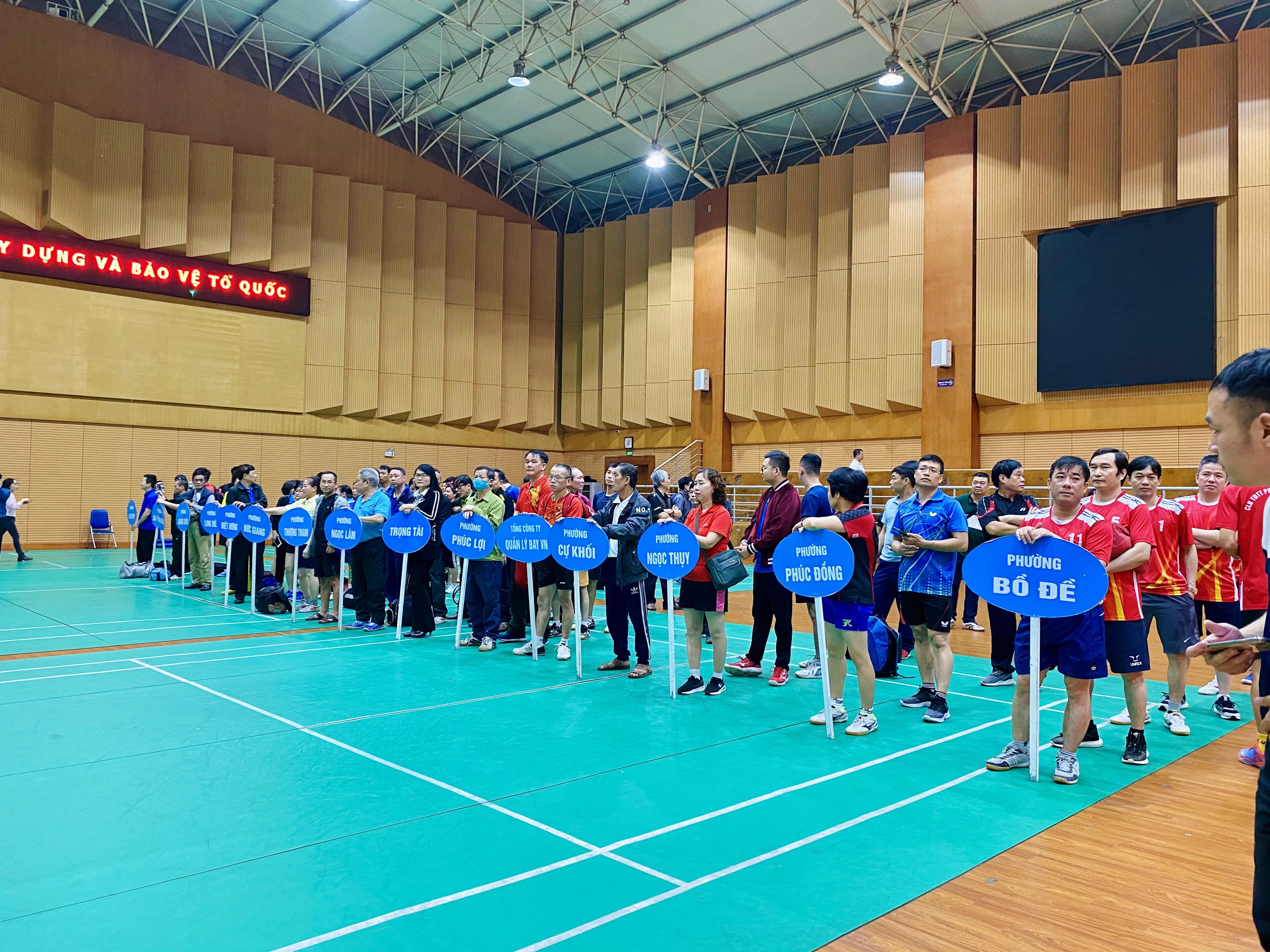 Kết quả tham gia giải Bóng Bàn Quận Long Biên năm 2021