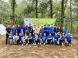 Đoàn Thanh niên Trung tâm Kiểm soát tiếp cận tại sân Nội Bài:  Tổ chức hội trại chào mừng 90 năm Ngày thành lập Đoàn TNCS Hồ Chí Minh