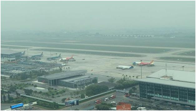 Sương mù, mưa phùn, mây thấp ảnh hưởng đến hoạt động bay tại các sân bay các sân bay khu vực miền Bắc