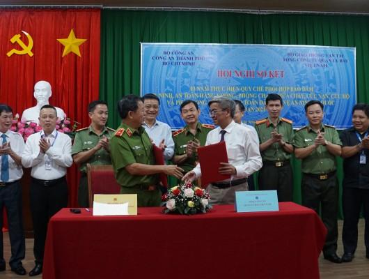 Hội nghị sơ kết 3 năm thực hiện Quy chế phối hợp giữa Tổng công ty Quản lý bay Việt Nam và Công an thành phố Hồ Chí Minh