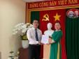Lễ công nhận đảng viên chính thức và phát thẻ đảng viên Chi bộ Trung tâm Khí tượng hàng không Tân Sơn Nhất