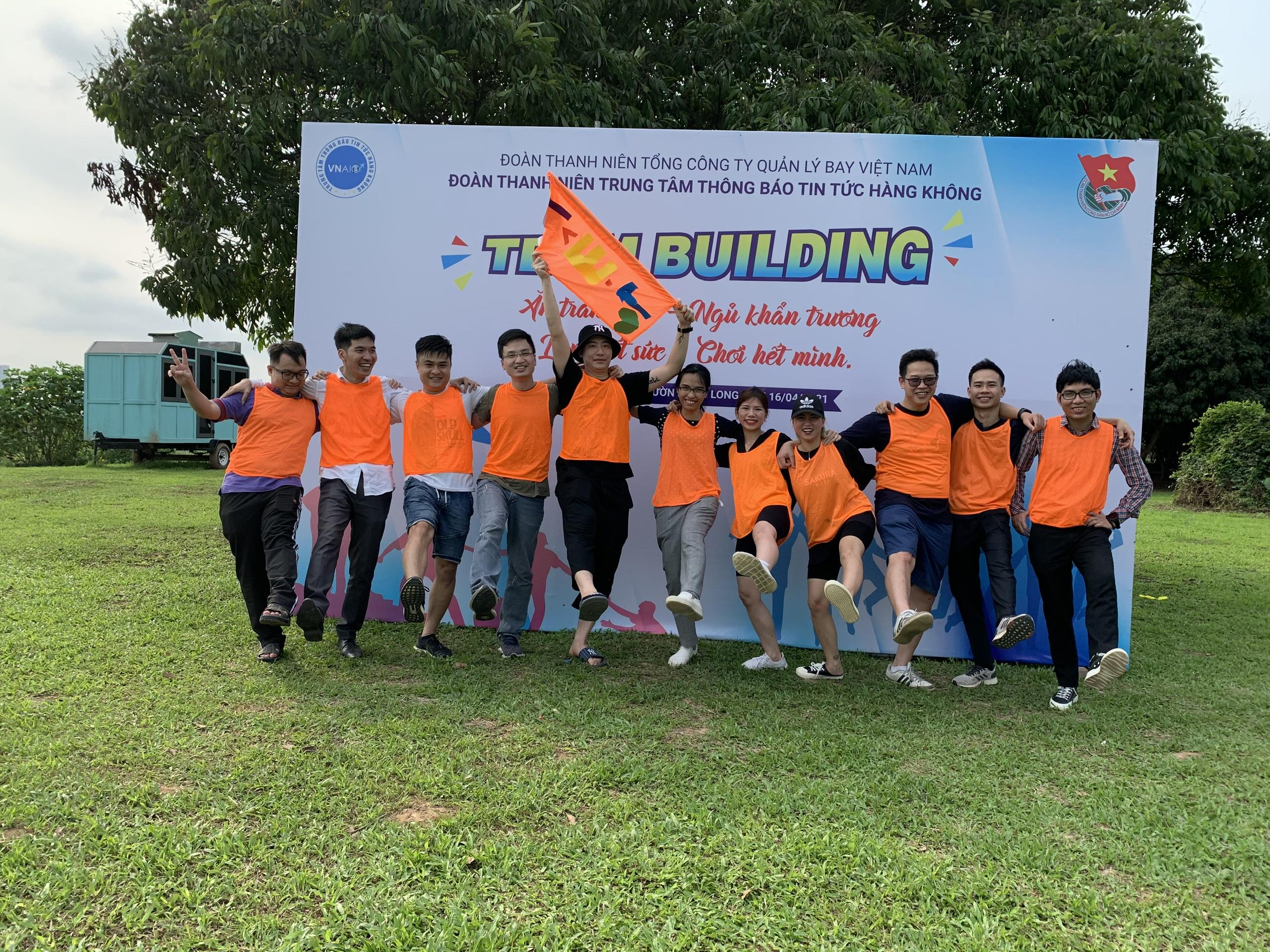 Đoàn Thanh niên Trung tâm Trung tâm thông báo tin tức hàng không: TeamBuilding chào mừng 90 năm Ngày thành lập Đoàn TNCS Hồ Chí Minh