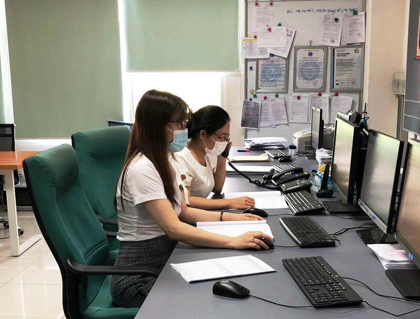 AIS kiểm tra công tác an toàn vệ sinh lao động và phòng chống dịch Covid-19