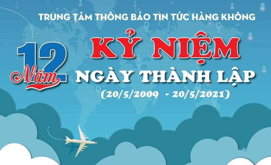 12 năm ngày thành lập Trung tâm Thông báo tin tức hàng không