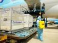 Ưu tiên không lưu cho các chuyến bay vận chuyển Vaccine Covid-19