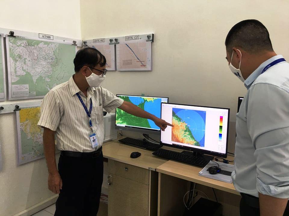 Trung tâm Khí tượng hàng không Đà Nẵng triển khai trực chốt lần 3