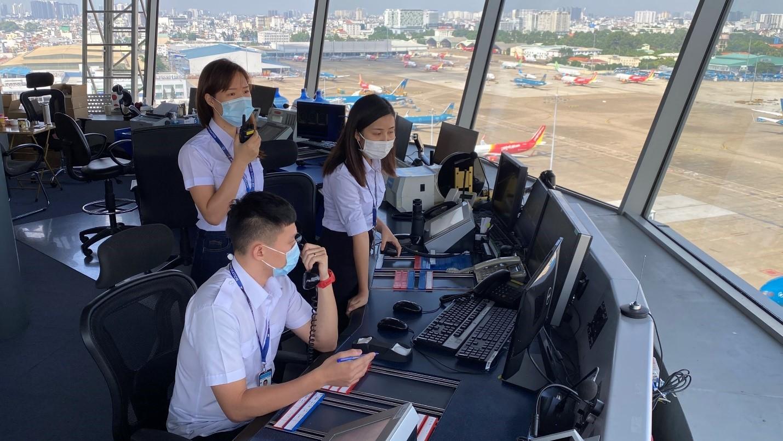 Công ty Quản lý bay miền Nam triển khai ứng phó với dịch Covid 19 bùng phát tại Thành phố Hồ Chí Minh