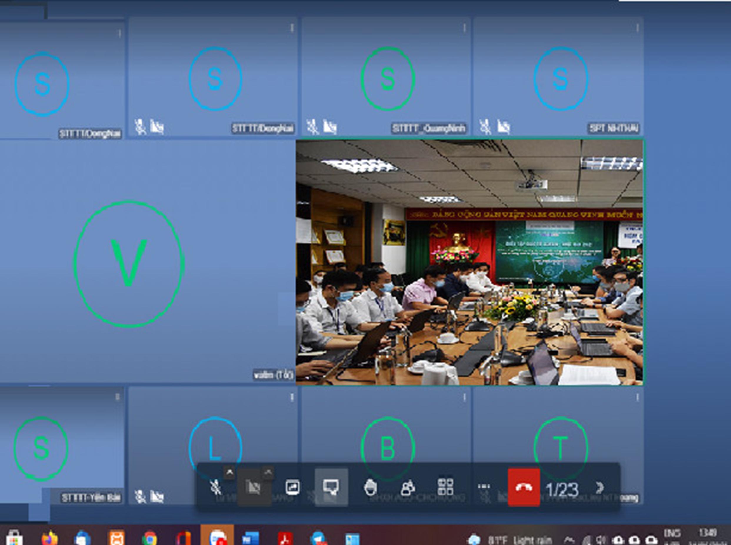 Tổng công ty Quản lý bay Việt Nam tham gia chương trình diễn tập an toàn thông tin mạng ASEAN - Nhật Bản năm 2021
