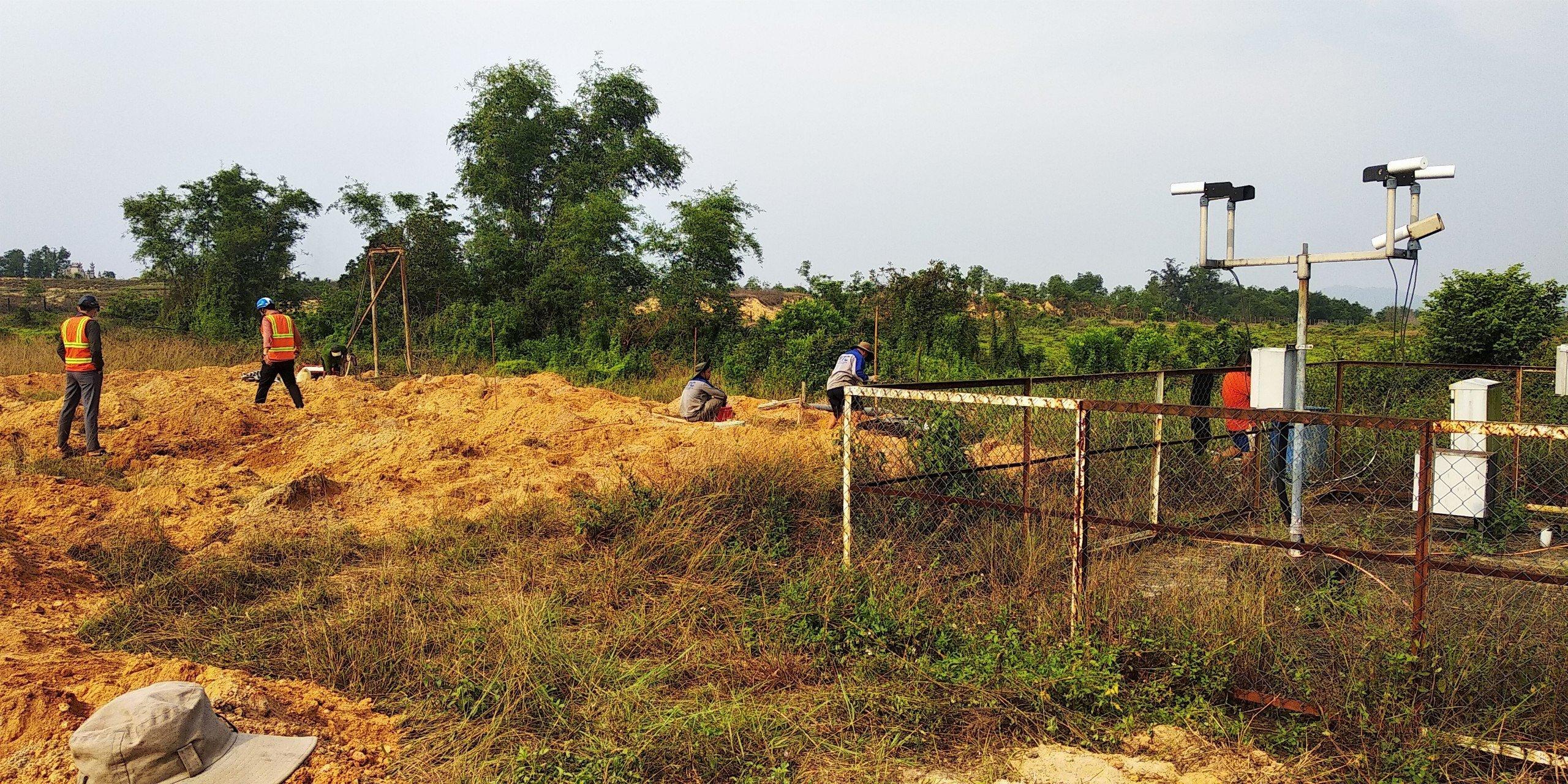Hoàn thành dự án Cải tạo, bổ sung hệ thống tiếp đất, chống sét cho các Trạm AWOS tại các sân bay khu vực miền Trung