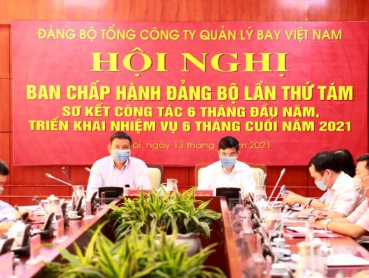 Hội nghị Ban Chấp hành Đảng bộ Tổng công ty sơ kết nhiệm vụ 6 tháng đầu năm, triển khai phương hướng, nhiệm vụ 6 tháng cuối năm