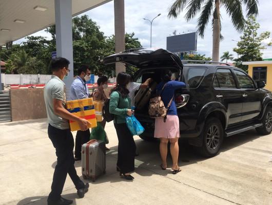 Trung tâm Khí tượng hàng không Đà Nẵng triển khai trực chốt lần 5 tại nhà quan trắc khí tượng
